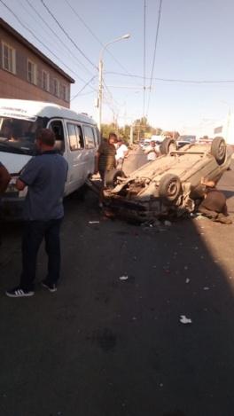 В массовом ДТП на Аэропортовском шоссе один пострадавший